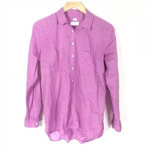 LOFT Tops - LOFT The Softened Shirt in Purple Medium